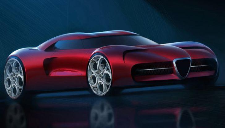 Alfa Romeo cambia logo: addio allo storico Biscione - Foto 17 di 20
