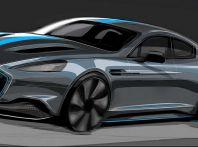 Aston Martin RapidE, la sportiva elettrica arriva nel 2019