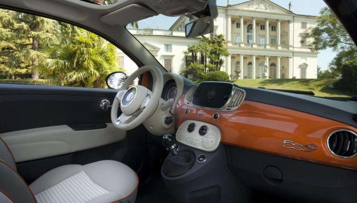 Fiat 500 Anniversario, l'edizione speciale per il 60° compleanno - Foto 11 di 11