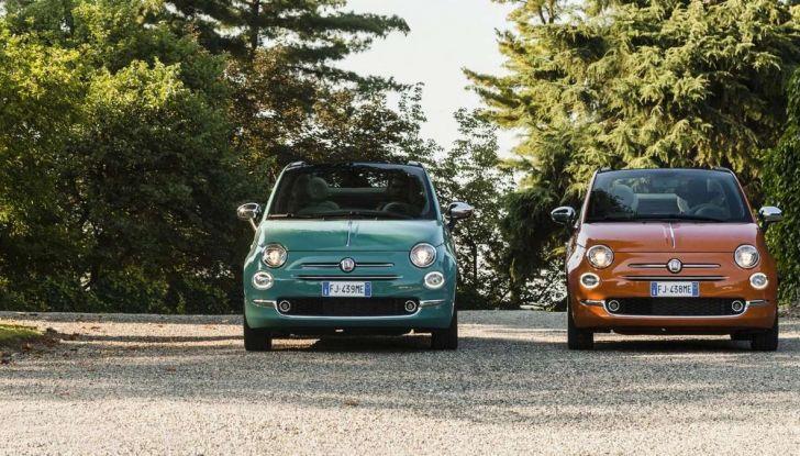 Fiat 500 Anniversario, l'edizione speciale per il 60° compleanno - Foto 5 di 11