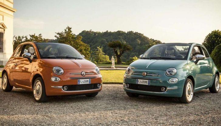 Fiat 500 Anniversario, l'edizione speciale per il 60° compleanno - Foto 1 di 11