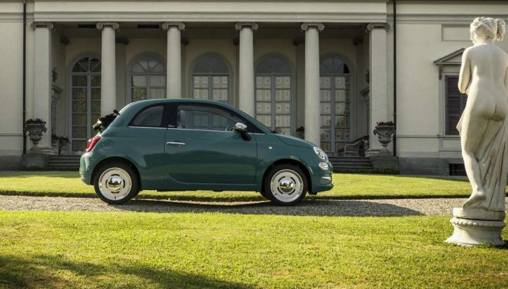 Fiat 500 Anniversario, l'edizione speciale per il 60° compleanno - Foto 7 di 11