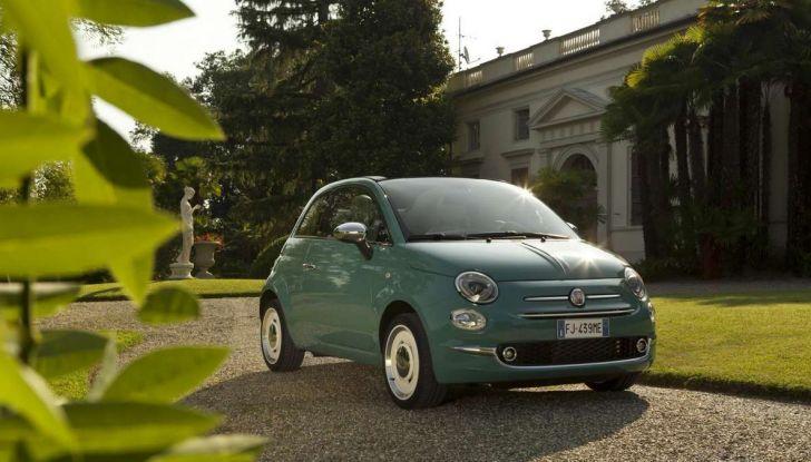 Fiat 500 Anniversario, l'edizione speciale per il 60° compleanno - Foto 8 di 11