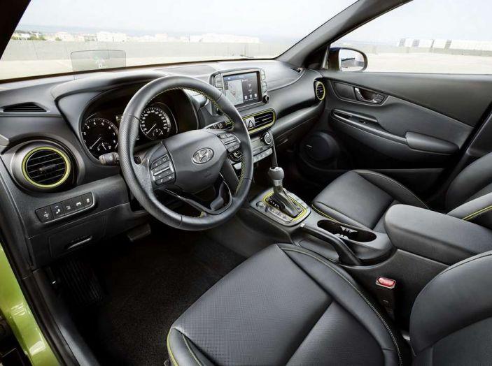 Hyundai Kona, dettagli e caratteristiche del nuovo SUV - Foto 21 di 21