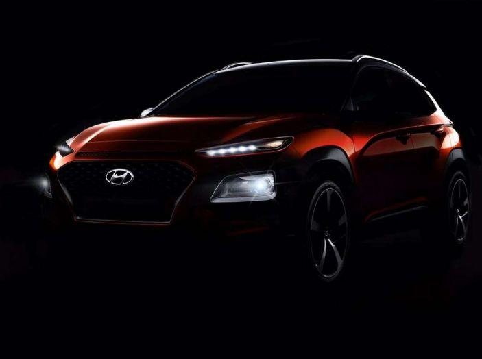 Hyundai Kona, dettagli e caratteristiche del nuovo SUV - Foto 10 di 21