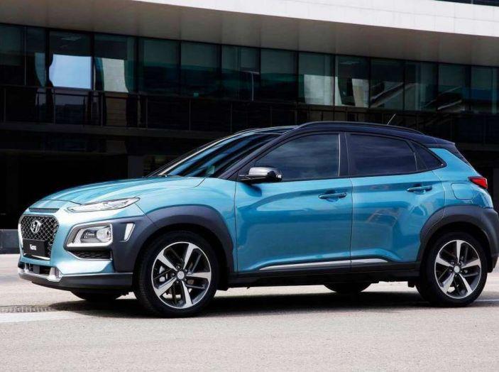 Hyundai Kona, dettagli e caratteristiche del nuovo SUV - Foto 6 di 21