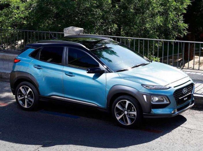 Hyundai Kona, dettagli e caratteristiche del nuovo SUV - Foto 2 di 21