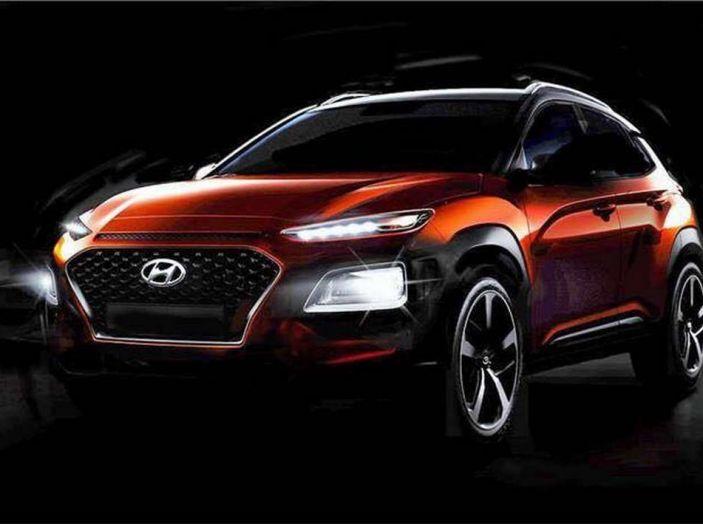 Hyundai Kona, dettagli e caratteristiche del nuovo SUV - Foto 12 di 21