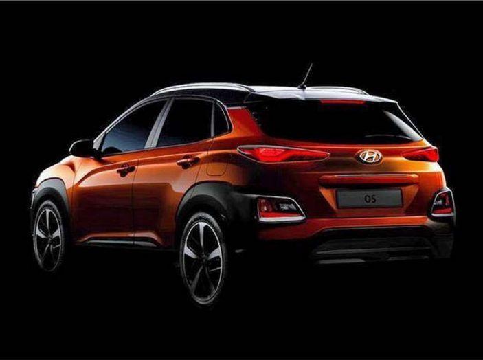 Hyundai Kona, dettagli e caratteristiche del nuovo SUV - Foto 14 di 21