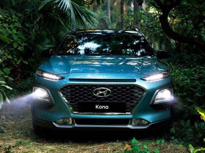 Hyundai Kona, dettagli e caratteristiche del nuovo SUV - Foto 7 di 21