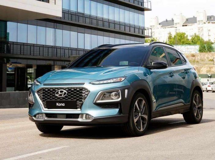 Hyundai Kona, dettagli e caratteristiche del nuovo SUV - Foto 4 di 21