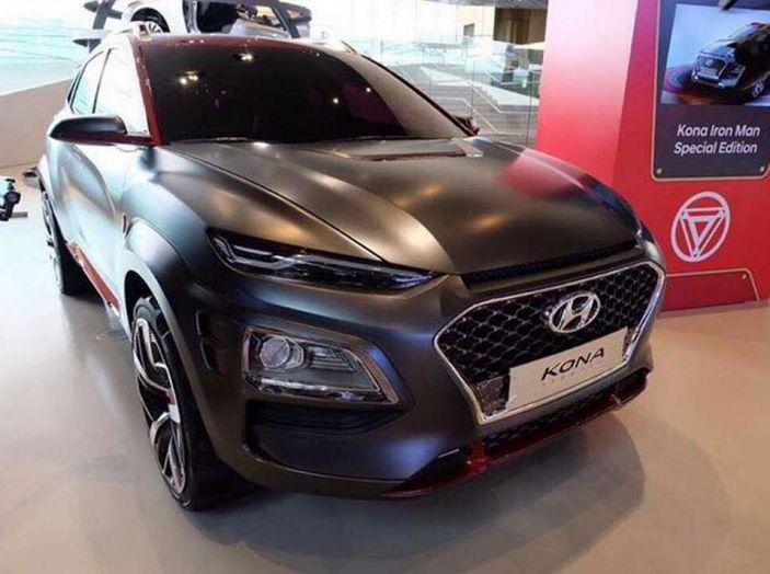 Hyundai Kona, dettagli e caratteristiche del nuovo SUV - Foto 16 di 21