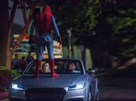 Nuova Audi A8 protagonista del film Spider-Man: Homecoming