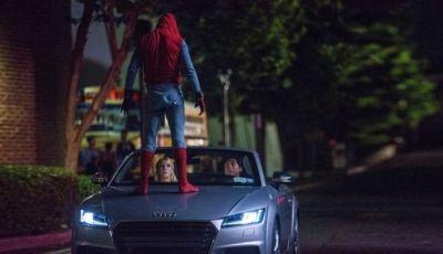 Nuova Audi A8 protagonista del film Spider-Man: Homecoming