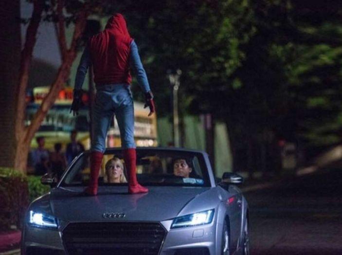 Nuova Audi A8 protagonista del film Spider-Man: Homecoming - Foto 1 di 11