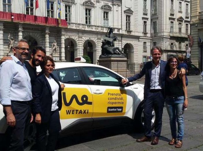 Wetaxi, a Torino arriva il taxi condiviso - Foto 1 di 6