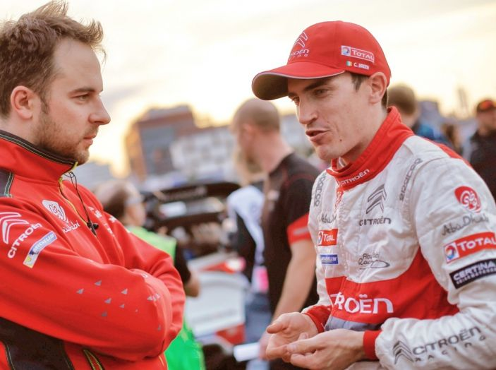 WRC Finlandia giorno 2: commenti e immagini dal team Citroën - Foto 1 di 4