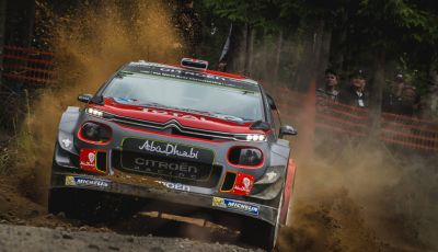 WRC Finlandia - Giorno 1: Breen quarto con la sua C3 WRC