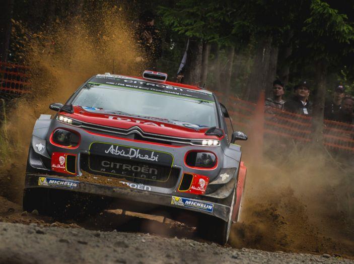 WRC Finlandia – Giorno 1: Breen quarto con la sua C3 WRC - Foto 1 di 4