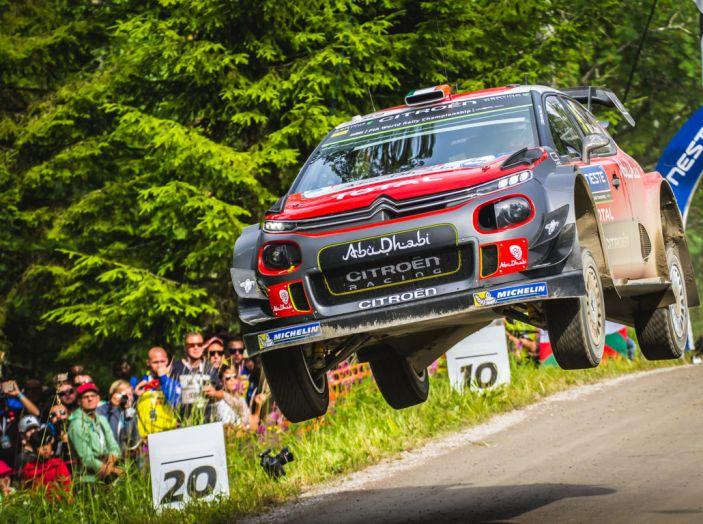 WRC Finlandia giorno 2: commenti e immagini dal team Citroën - Foto 2 di 4