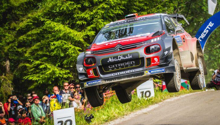 WRC Finlandia – Giorno 3: arriva quinta la C3 WRC di Breen - Foto 2 di 4