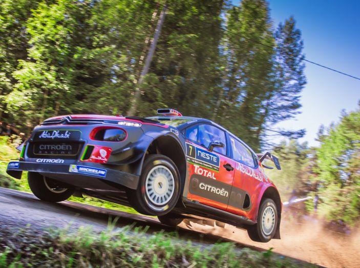 WRC Finlandia – Giorno 3: arriva quinta la C3 WRC di Breen - Foto 1 di 4