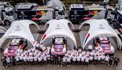 Il Team Peugeot Total, questo era l'inizio dell'avventura del Silk Way Rally – VIDEO