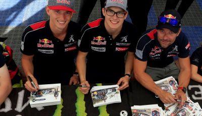 I commenti Peugeot del pregara Rallycross che si disputerà in Canada