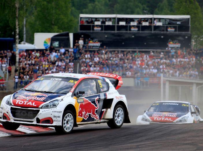 Campionato del mondo Rallycross – Peugeot pronta per l'ottavo appuntamento della stagione - Foto 2 di 2