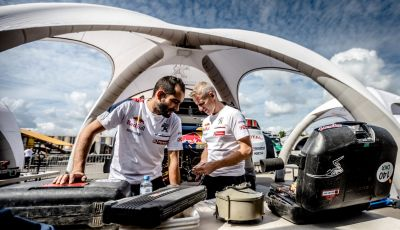 Tappa 12 del Silk Way Rally: voce al team Peugeot