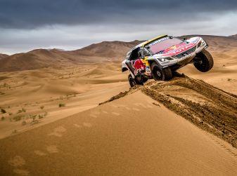 Peugeot comincia ad intravedere il traguardo del Silk Way Rally