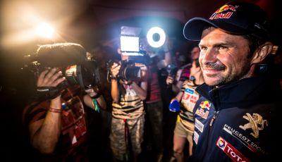 Il Team Peugeot Total, vincitore del Silk Way Rally 2017, ai nostri microfoni