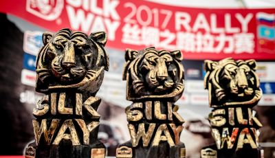 I numeri del Silk Way Rally 2017