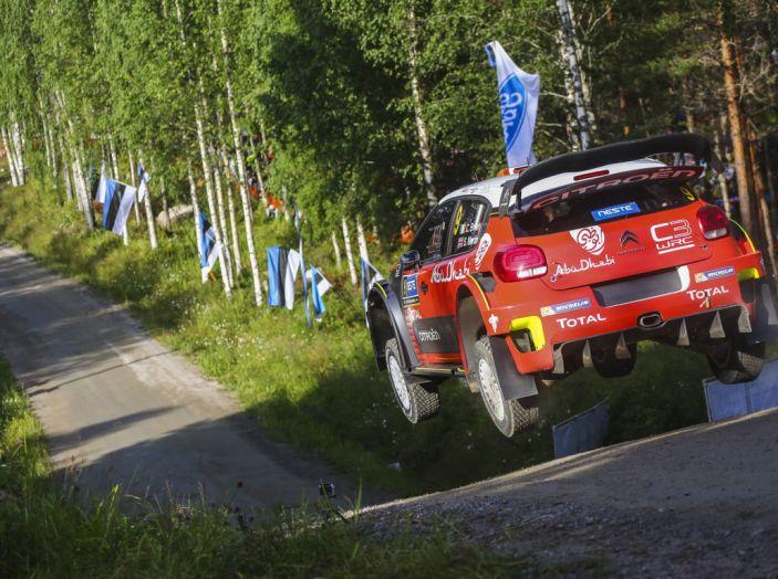 WRC Finlandia – Giorno 1: Breen quarto con la sua C3 WRC - Foto 3 di 4
