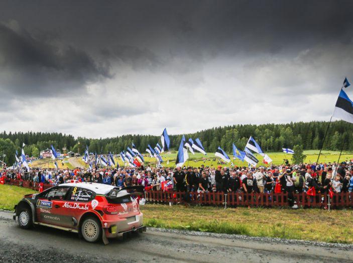 WRC Finlandia – Giorno 3: arriva quinta la C3 WRC di Breen - Foto 3 di 4