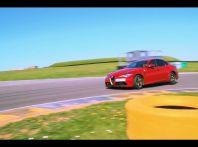 Alfa Romeo Giulia: un guasto nella sfida contro BMW M3 e Mercedes C63 AMG