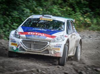 Rally di San Marino – Peugeot in lotta per salire sul podio