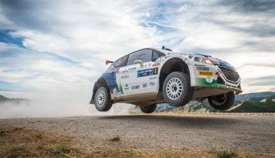 Rally di San Marino, Peugeot recupera e sale sul podio