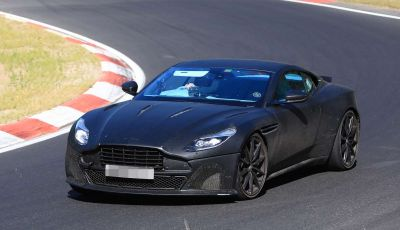Aston Martin DB11 S, proseguono i test in pista