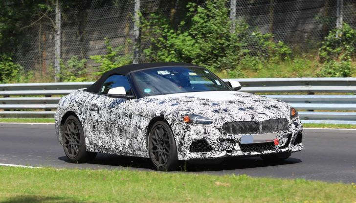 BMW Z5, prime immagini e dettagli della roadster tedesca - Foto 1 di 18