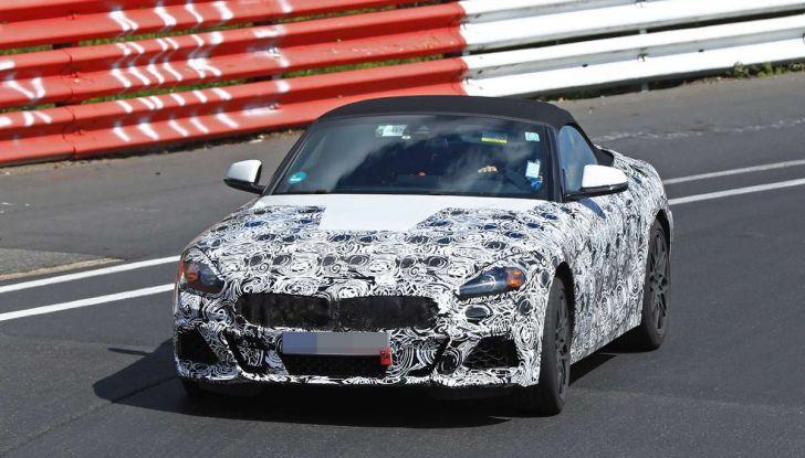 BMW Z5, prime immagini e dettagli della roadster tedesca - Foto 12 di 18