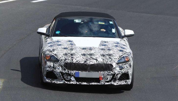 BMW Z5, prime immagini e dettagli della roadster tedesca - Foto 14 di 18