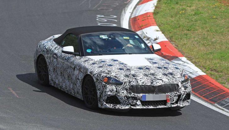 BMW Z5, prime immagini e dettagli della roadster tedesca - Foto 8 di 18