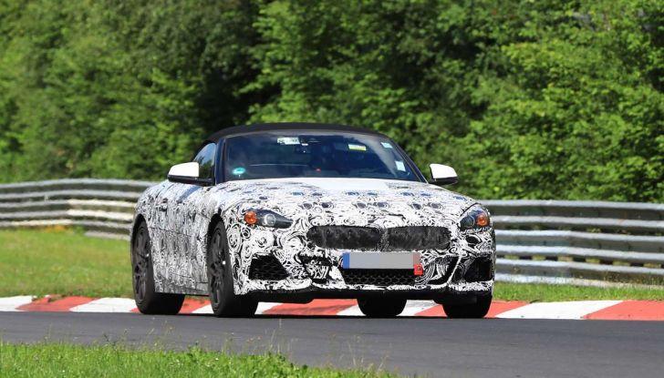 BMW Z5, prime immagini e dettagli della roadster tedesca - Foto 18 di 18
