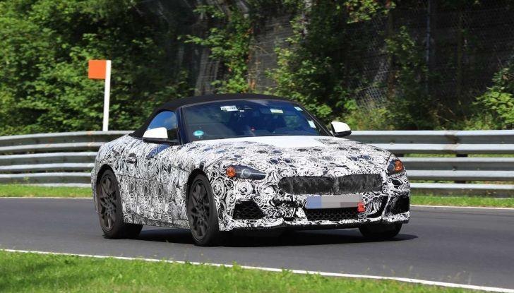 BMW Z5, prime immagini e dettagli della roadster tedesca - Foto 11 di 18