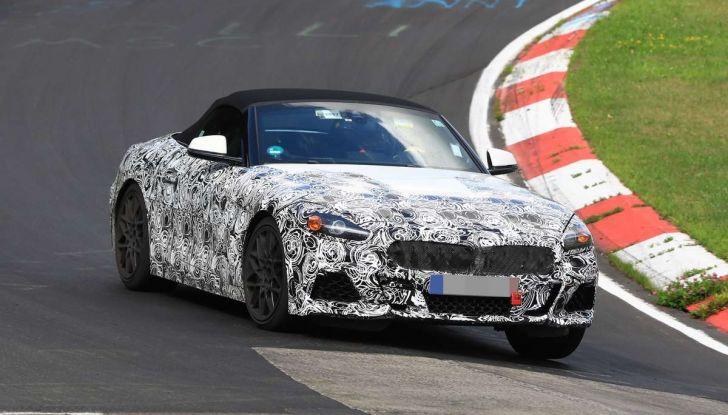 BMW Z5, prime immagini e dettagli della roadster tedesca - Foto 3 di 18