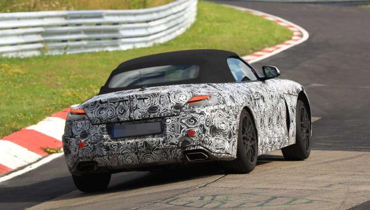 BMW Z5, prime immagini e dettagli della roadster tedesca - Foto 10 di 18