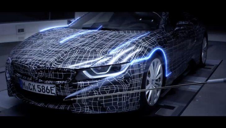 BMW i8 Roadster, l'ibrida dell'Elica verso l'evoluzione - Foto 2 di 12