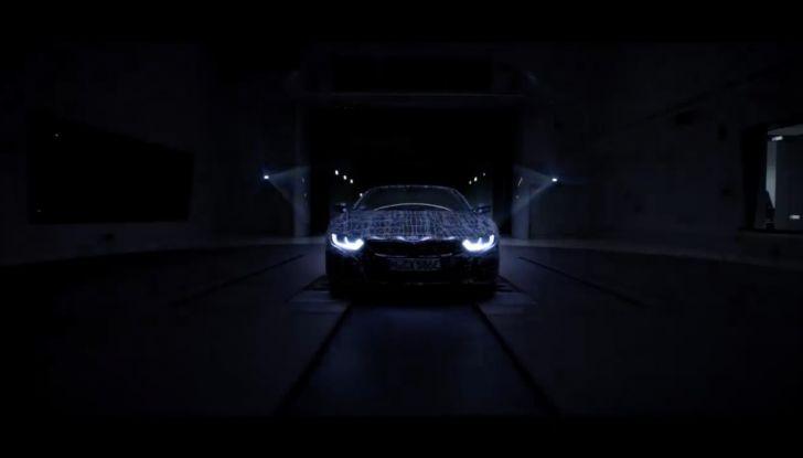 BMW i8 Roadster, l'ibrida dell'Elica verso l'evoluzione - Foto 6 di 12
