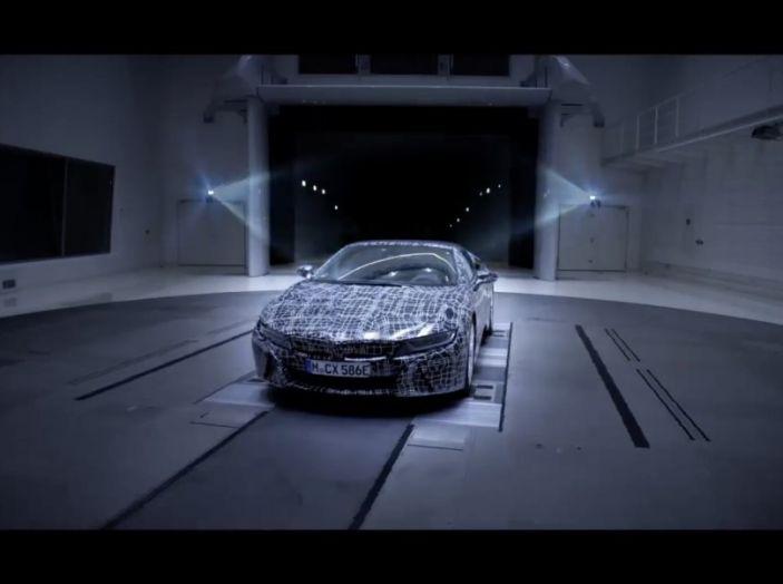 BMW i8 Roadster, l'ibrida dell'Elica verso l'evoluzione - Foto 7 di 12